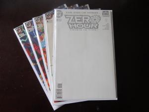 Zero Hour Crisis in Time (1994) #0A-4A - Avg 8.5/VF+ - 1994
