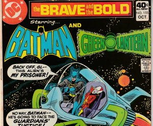 Brave and The Bold # 155 GREEN LANTERN !