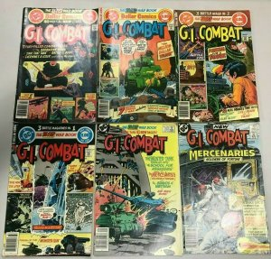 GI COMBAT#208-285 FN/VF LOT (6 BOOKS) 1978 DC BRONZE AGE COMICS