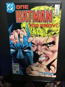Batman #403 (1987) wow! 2nd  Magpie! Key high-grade NM-