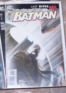 Batman #684 (Feb 2009, DC) ALEX ROSS COVER ! last rites gotham nightwing