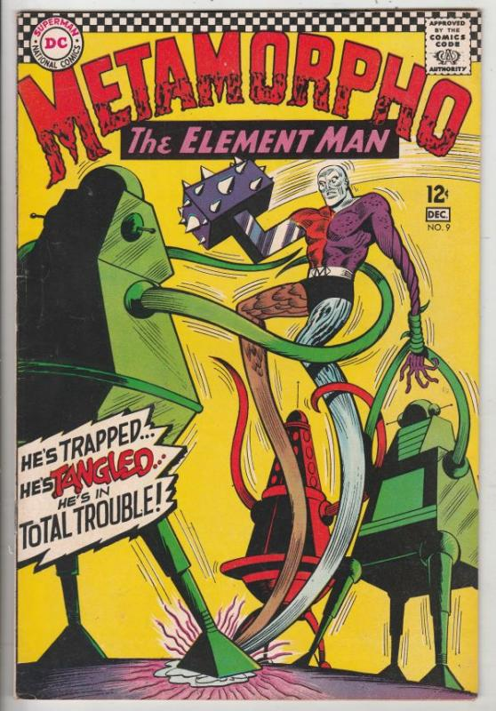 Metamorpho the Element Man #9 (Dec-66) NM- High-Grade Metamorpho, Simon Stagg...