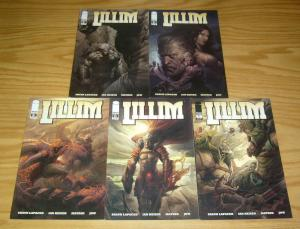 Lillim #1-5 VF/NM complete series - loki vs odin - image comics set lot 2 3 4