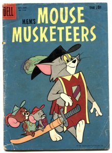 Mouse Musketeers- Four Color Comics #1135 1960 G