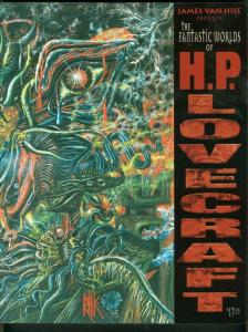 THE FANTASTIC WORLD OF H P LOVECRAFT-1ST ED-1999-PULP   VF