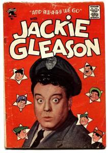 JACKIE GLEASON #1-St John-1955-Golden-Age Comic Book