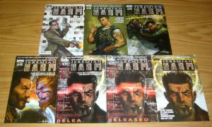 Jeremiah Harm #1-5 VF/NM complete series + (2) variants keith giffen  alan grant