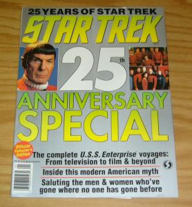 Official Star Trek 25th Anniversary Special Magazine #1 VF/NM starlog 1991