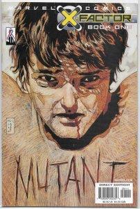 X-Factor (vol. 2, 2002) #1 FN Jensen/Ranson, Phillips cover