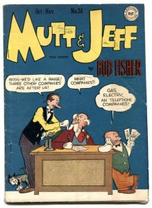 Mutt and Jeff #24 1946- BUD FISHER- Golden Age VG