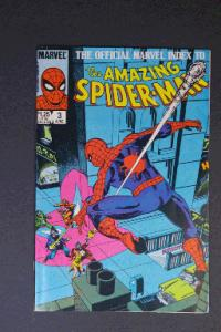 Official Marvel Index to Amazing Spider-Man #3 June 1985