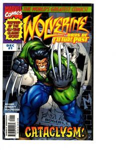 3 Wolverine Days of Future Past Marvel Comic Books # 1 2 3 X-Men Magneto BH14
