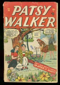 PATSY WALKER #14 1948 GOLDEN-AGE ROMANCE FR