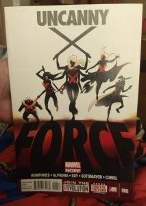 Uncanny X-Force #006 NM
