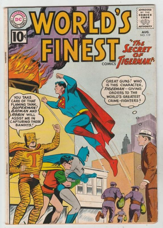 World's Finest #119 (Aug-61) VF+ High-Grade Superman, Batman, Robin