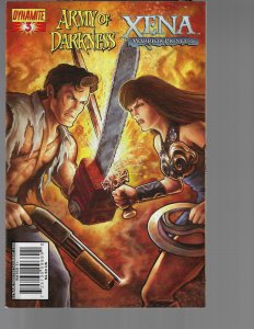 Army of Darkness /  Xena #3(Dynamite, 2008)
