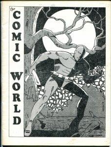 Comic World #11 1969-Robert Jennings-Golden Age Daredevil-White Indaian-VG