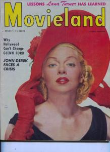 Movieland-Lana Turner-Betty Hutton-Shelley Winters-Aug-1951