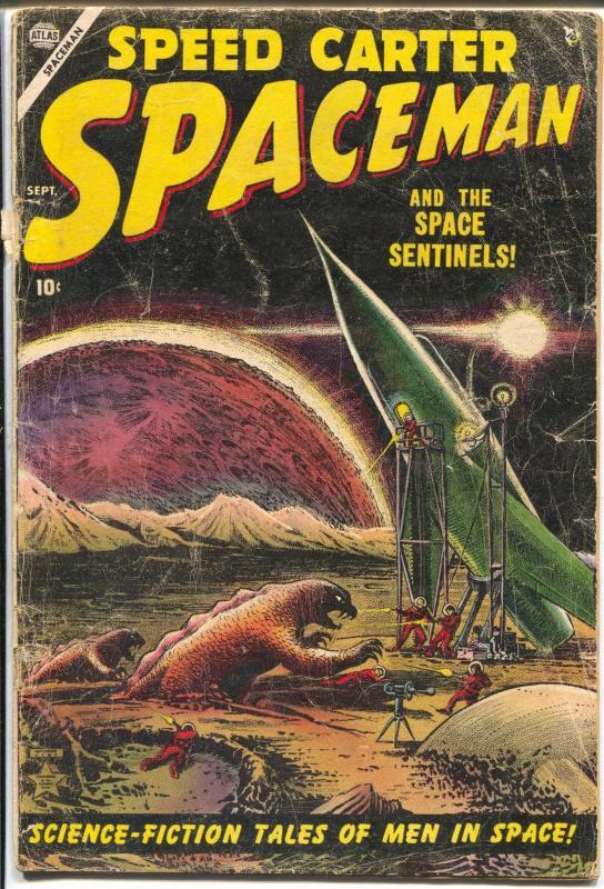 Spaceman #1 1953-Atlas- Joe Maneely-1st issue-1st Speed