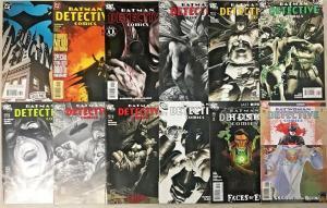 DETECTIVE COMICS#765-857 VF/NM LOT 2002 (12 BOOKS) DC COMICS
