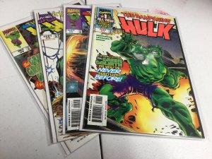 The Rampaging Hulk 1-3 Nm Near Mint 1998 Marvel Comics