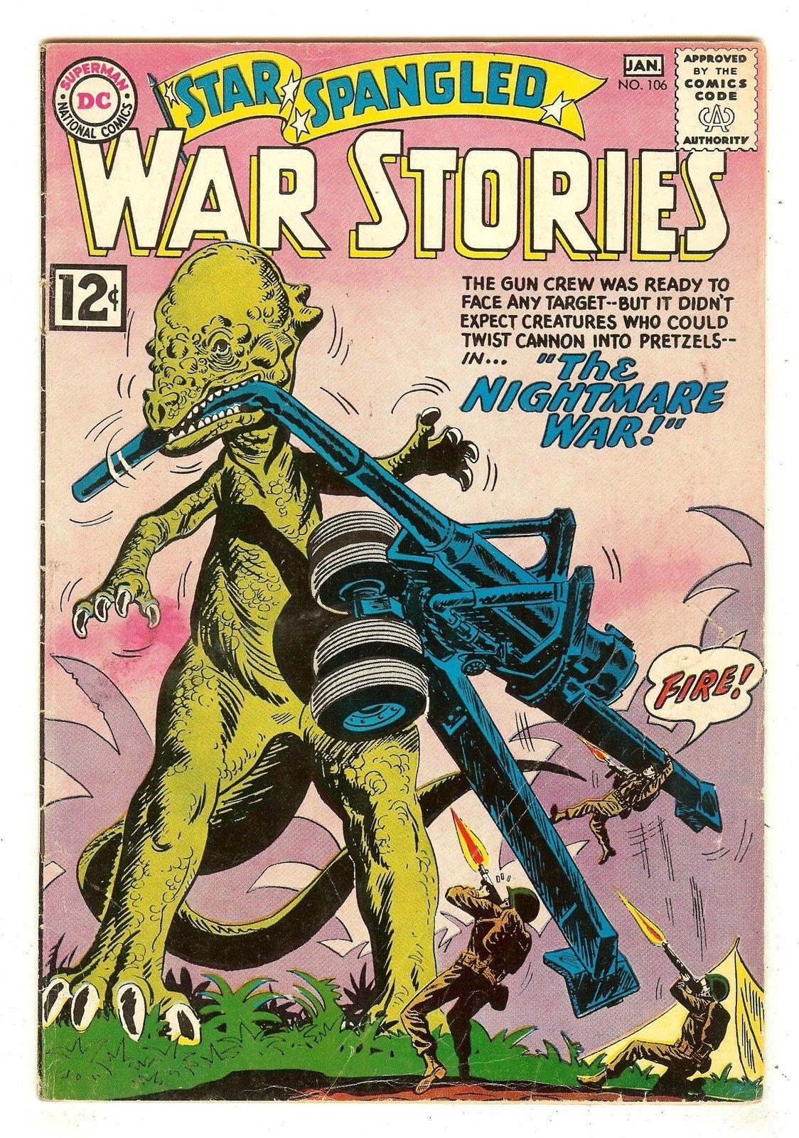 Star Spangled War Stories 106 The War That Time Forgot