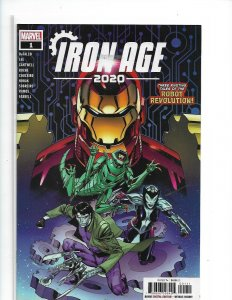 2020 Iron Age #1 Cover A NM   nw06