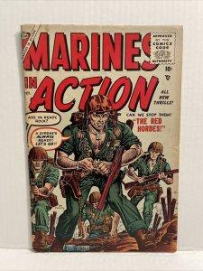Marines In Action #3 Joe Maneely Art 1955 Atlas