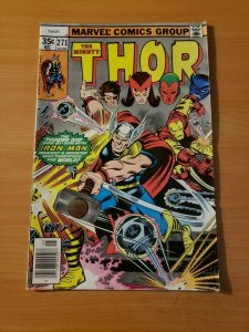 The Mighty Thor #271 ~ VERY FINE - NEAR MINT NM ~ 1978 MARVEL COMICS
