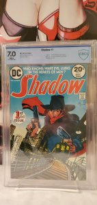 The Shadow #1 CBCS 7.0 White Pages Dc Comics Bronze Age Mike Kaluta