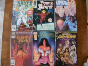 6 Comic: SILVER SABLE #3 STAR BRAND #1 SYPHONS #3 SUSPIRA #3 KAPTARA #1 GENESIS