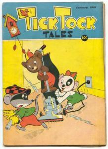 Tick Tock Tales #1 1946-Koko & Kola- Funny animals FN