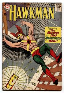 Hawkman #4 DC FN comic book 1st appearance of Zatanna Key Issue Silver-Age