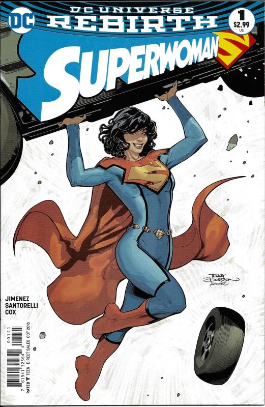 Superwoman Rebirth #1