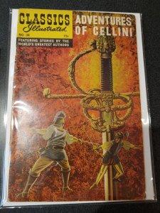 CLASSIC ILLUSTRATED #38 ADVENTURES OF CELLINI GOLDEN AGE CLASSIC