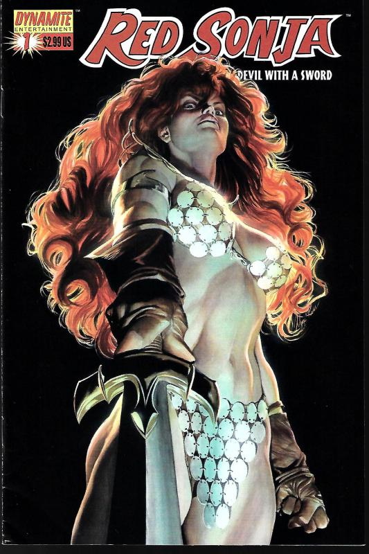 Red Sonja #1 (Dynamite Entertainment) - Alex Ross Cover