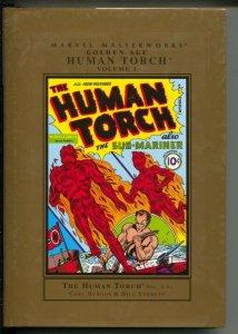 Marvel Masterworks Golden Age Human Torch-Carl Burgos-Vol 1-2005-HC-VG/FN