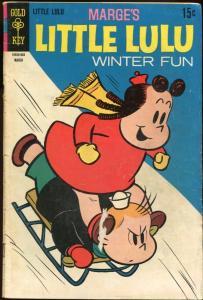 MARGE'S LITTLE LULU #191-GOLD KEY-COMIC VG/FN