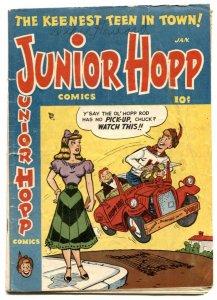 Junior Hopp #1 1951- headlight cover-golden age G+