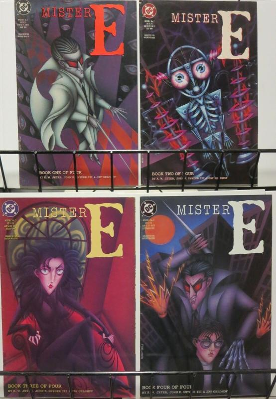 MISTER E (1991 DC) 1-4 sequel to Books Of Magic