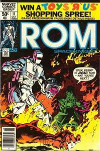 Rom (1979 series) #11, VF+ (Stock photo)