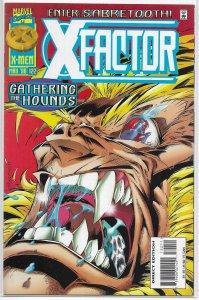 X-Factor   vol. 1   #122 VF Mackie/Matsuda, Sabretooth