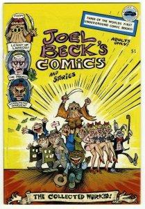 Joel Beck's Comics and Stories - Kitchen Sink Press - 1977