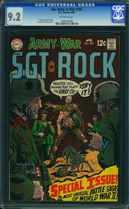 Our Army at War #205 (DC, 1969) CGC 9.2