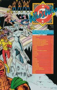 Who's Who: The Definitive Directory of the DC Universe #12 VF; DC | save on ship