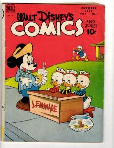 Walt Disney's Comics & Stories # 97 FN- Dell Comic Book Donald Nephews JL10