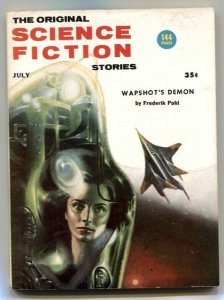 Original Science Fiction Stories July 1956- Wapshot's Demon