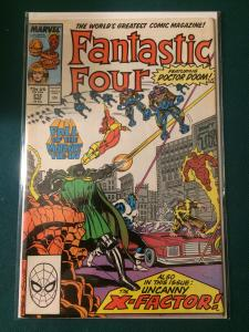 Fantastic Four #312 Fall of the Mutants Tie-In