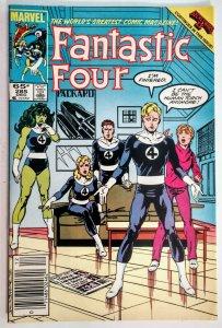 Fantastic Four #285 MARK JEWELERS VARIANT