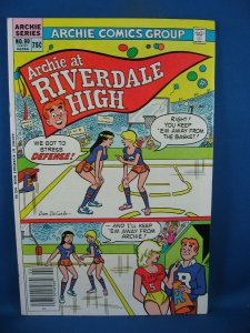 ARCHIE AT RIVERDALE HIGH 90 VF Early Cheryl Blossom Appearance 1983